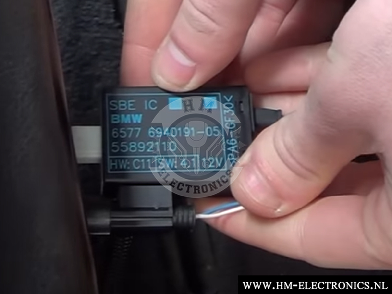 Image titleBMW E32, E34, E36, E38, E39, E46, E53, E60, E61, E65 Diagnostische Passagiersstoel Mat Sensor / Emulator