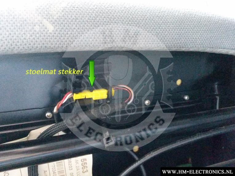 Mercedes Viano W639 2003-2014 Diagnostische Passagiersstoel Mat Sensor / Emulator - met pinnen