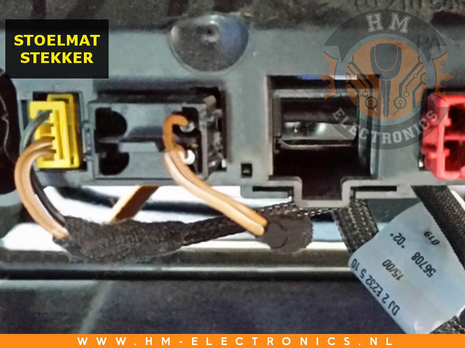 Mercedes E W210 1995-1999 Diagnostische Passagiersstoel Mat Sensor / Emulator - met stekker