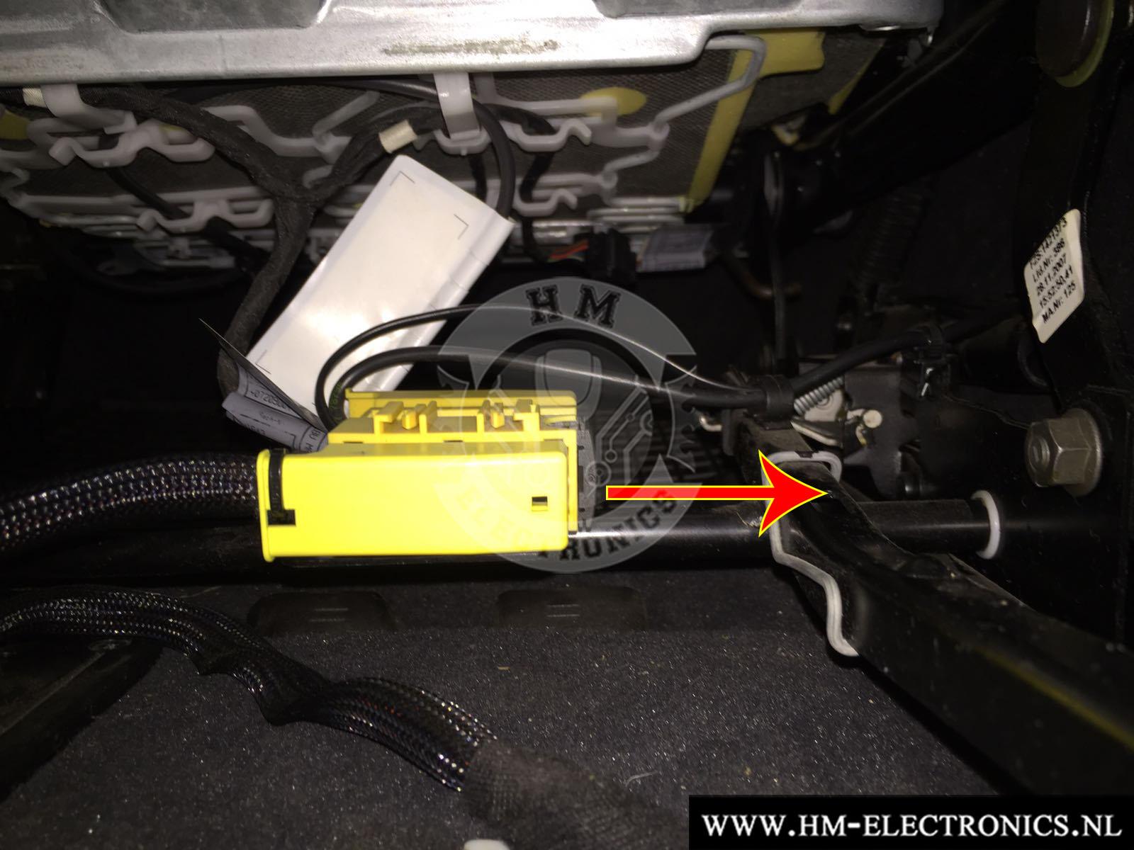 BMW E-serie EU Diagnostische Passagiersstoel Mat Sensor / Emulator - met pinnen