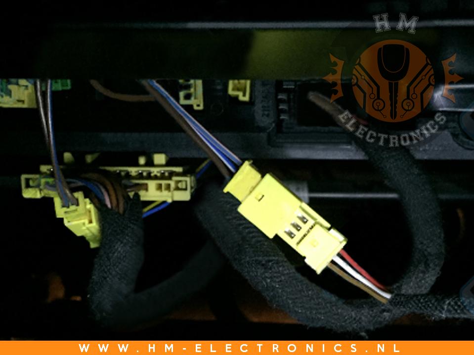 Mercedes E W211 2002-2003 Diagnostische Passagiersstoel Mat Sensor / Emulator - met stekker